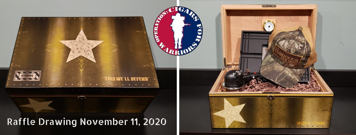 Cigars for Warriors 2020 Raffle Prizes