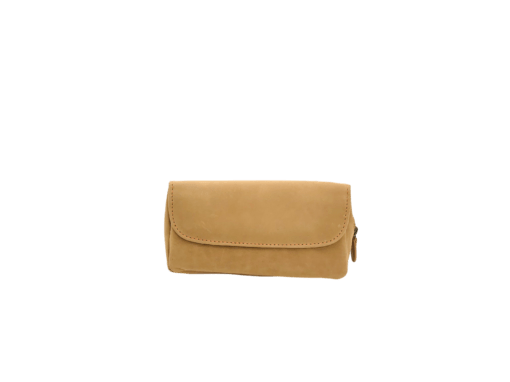 Stokkebye 4th Generation Brown Leather Combo Pipe Case