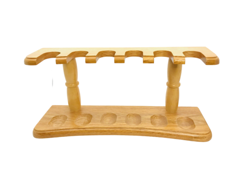 Pipe Stand - BE 6 Oak Rack -