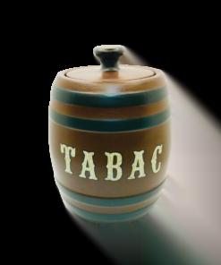 Tobacco Jar - Tabac Humidor -