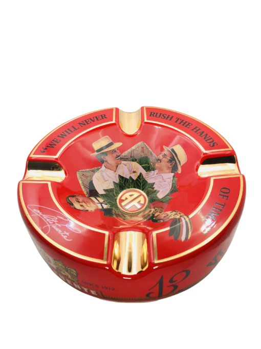 Red Hands of Time Ashtray