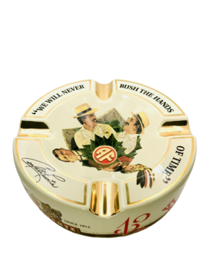 Ivory Hands of Time Ashtray