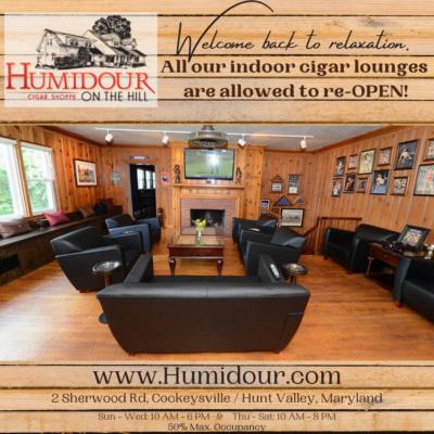 Cockeysville Hunt Valley Public Cigar Lounge Open
