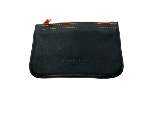 Stokkebye 4th Generation Black Leather Zipper Pipe Case