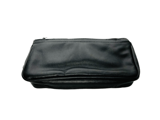 Castleford Black Combo Pipe and Tobacco Pouch