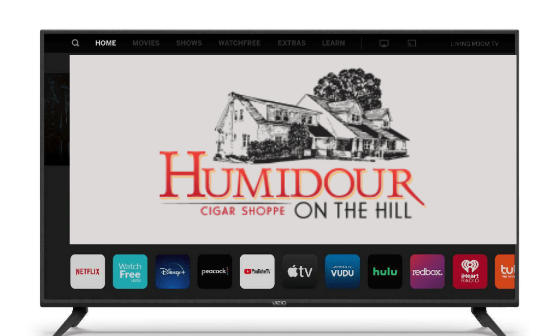 Humidour My Father Cigar VIZIO Smart TV