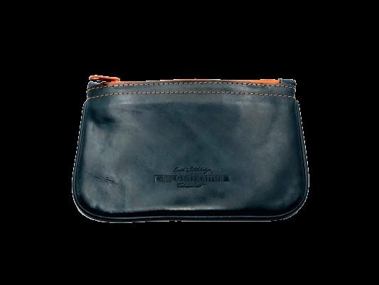 Stokkebye 4th Generation Blue Leather Zipper Pipe Case