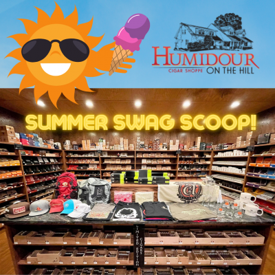 Two Scoops of Summer Swag at the Humidour
